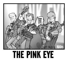 The Pink Eye by deaddays