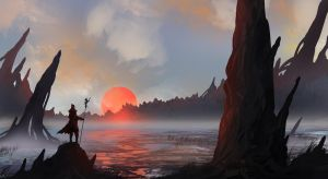 Searching The Mudflats by TacoSauceNinja