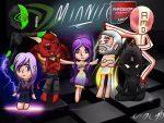 Mianite chibified: the pantheon. by Violyd