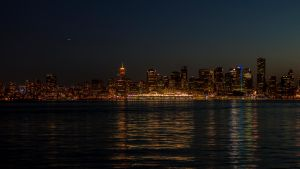 Vancouver at Night by insomniac199