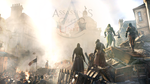 Assassin's Creed Unity Wallpaper II by UchihaAvenger666