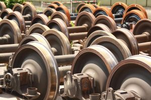 Locomotive Wheel 16307611 by StockProject1