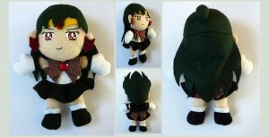 Sailor Pluto Plushie v2.0 by sakkysa