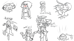 Sketch Requests #1 by Amethyst-Sun