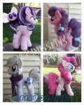 My little pony plush commissions are OPEN by CINNAMON-STITCH