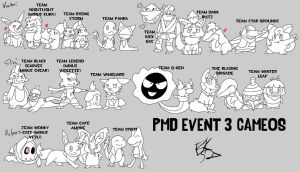 Event 3 Cameos by BlackRayquaza1