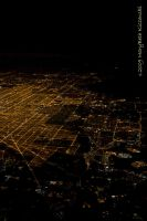 Chicago at Night by supercrazzy