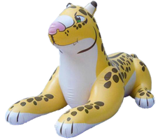 Inflatable Standing Leopard by SeaWorldBelieveShamu