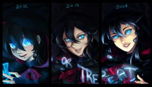 Halloween Evolution by doblemjwn