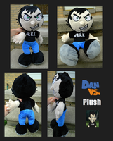 ::-Dan Vs. Plush-:: by Soft-Sensations
