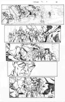 X-Men Schism 5 Page 12 Sample by thecreatorhd