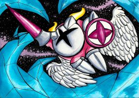 Galacta knight by Halgalaz