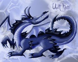 Ulthal the Ice Dragon by Allyson-x
