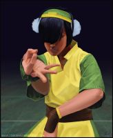 Toph from Avatar by Tomahawk-Monkey