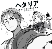 Hetalia World Stars by Cioccolatodorima