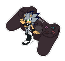 Comm. Sticker. Shard the Porcupine by 13VOin