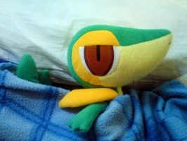 Goodnight Snivy by riolushinx