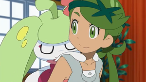 Steenee's sleeping on Mallow's Back