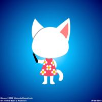 Animal Crossing's Blanca by TheRealSneakers