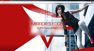Mirror's Edge Google Chrome Theme by SUPERsaeJANG