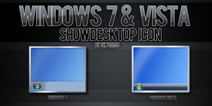 Windows7 Show Desktop Icon by Shifter99
