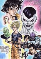 Dragonball Z Live action Style by MatiasSoto