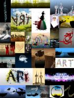 Some of my old graphics work by SAOUD-ALJEDI