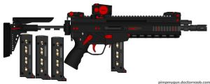 .45 bloody cather by bobafettdk