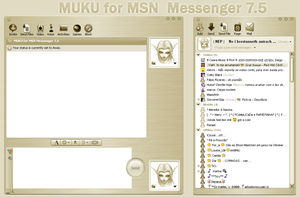 MUKU for MSN Messenger 7.5 by WickedDesktop