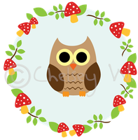 Owl Frame1 by shortsweetpea