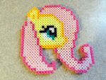 Melty Beads Fluttershy by Squeemishness