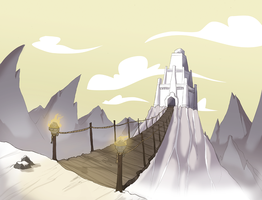 Mountain Lair by rollingrabbit