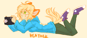 Heather by piranha-fish