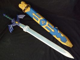 Master sword and Sheath Skyward Sword 02 by DonnixProps