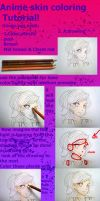 Anime Skin Coloring Tutorial by THEAIMANDPS