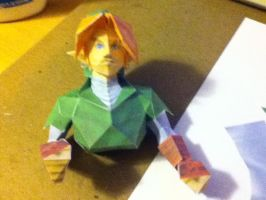 Link Papercraft Progress by im-tall