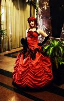 Anime Matsuri 2011 Red Dress by Lonely-Bumble-Bee