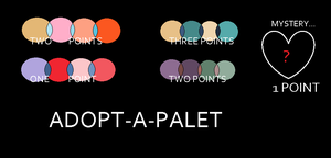 ADOPTABLE COLOR PALLETS by snoopyluver5