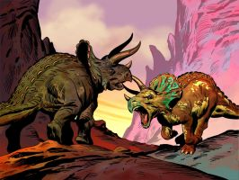 TRICERATOPS by benitogallego