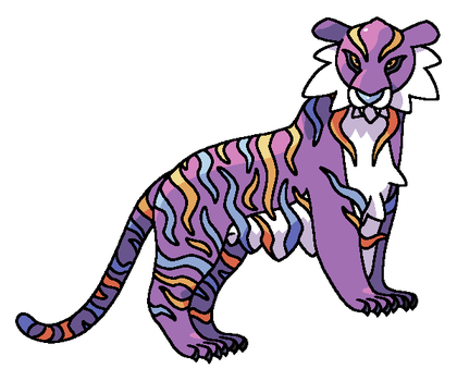 TIGER FAKEMON FOR SALE by DarkySG