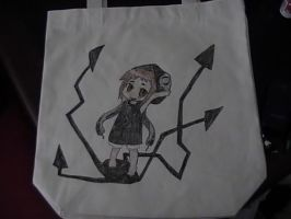 Soul Eater canvas tote front by shades-chan