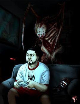 Dead Space In The Dark by Esau13