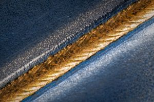 Gold On Blue by Quit007