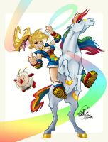 Rainbow Brite by RangyRougee