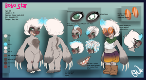 Bobo Ref 2012 [OLD] by dragon-shark