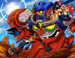 Gurren Lagann by eldeivi