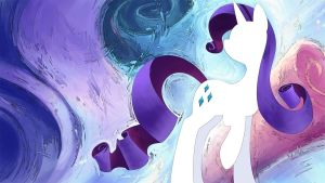 Rarity Wallpaper by GenjiLim