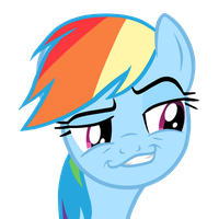 Rainbow Dash Rape-face by Translayer