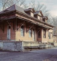 Abandoned Train Station by ChristopherSacry