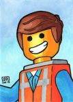 Emmit Sketch Card by TheRigger